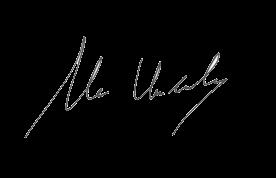 Mr Undandy's signature